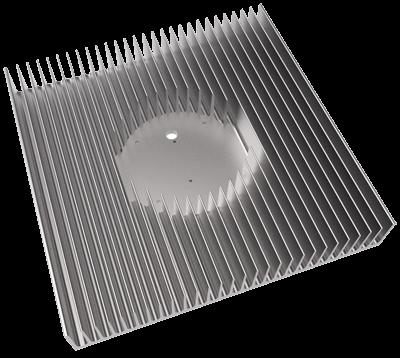 Aluminium Kühlkörper