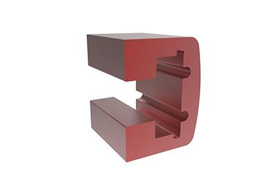 Kupfer-Strangpressprofil