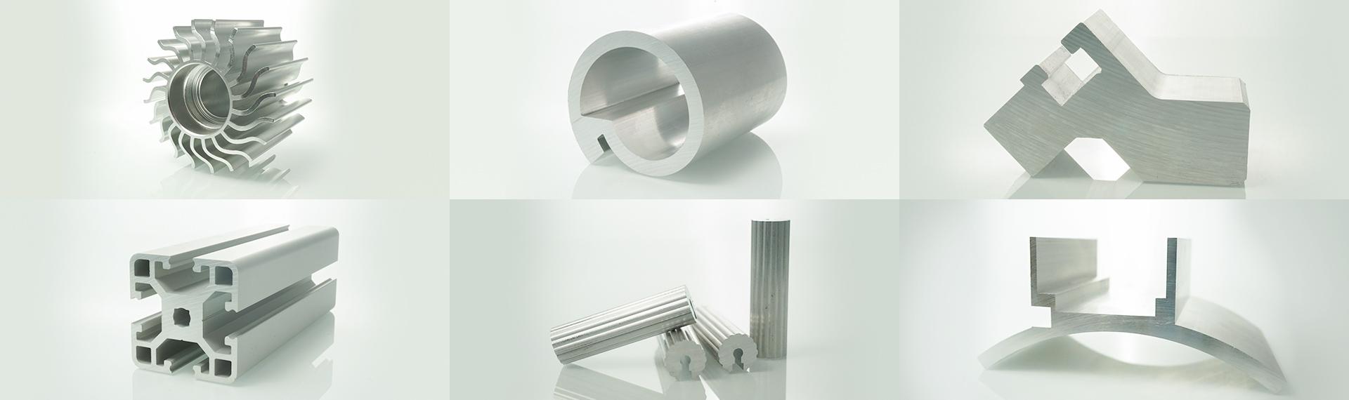 Aluminium-Stangpressprofile