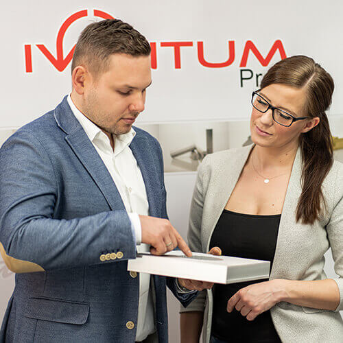 Kontaktanfrage bei Iventum-Profil